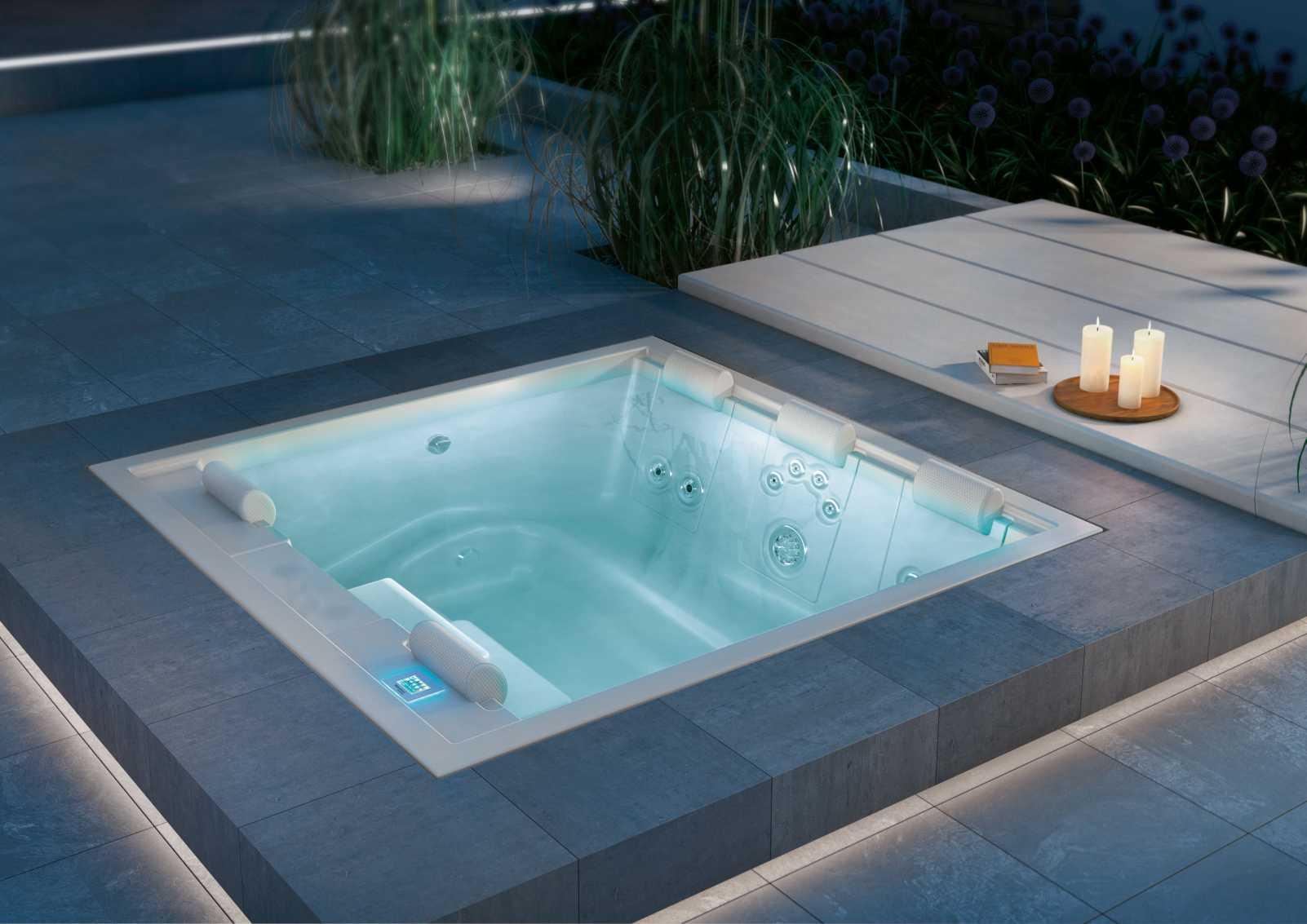 Whirlpool ac schwimmbadtechnik - Outdoor whirlpool ...