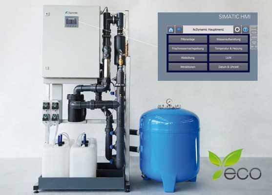 Führende Filteranlage für Schwimmbecken, Whirlpool und Brunnen
