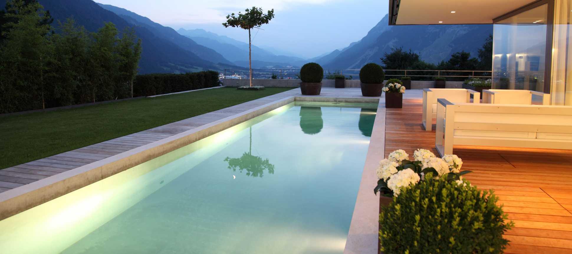 Betonpool Poolbau Schweiz