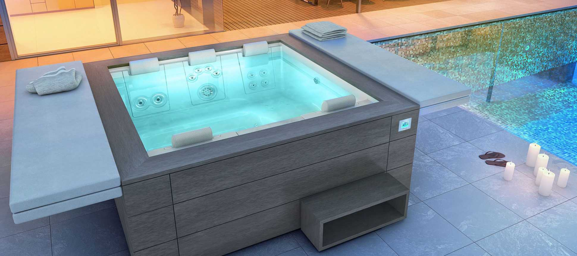 Portable whirlpool ac schwimmbadtechnik - Einbau whirlpool outdoor ...