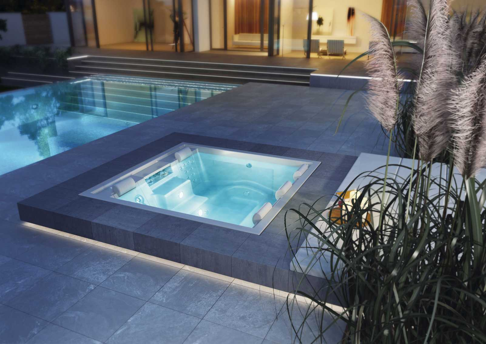 Whirlpool outdoor eingelassen  Pretty Outdoor Whirlpools Photos - Bathroom and Shower Ideas ...