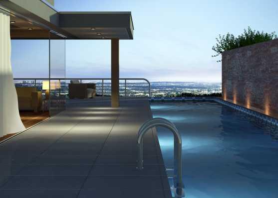 Luxus Attika Wohnung mit Swimmingpool