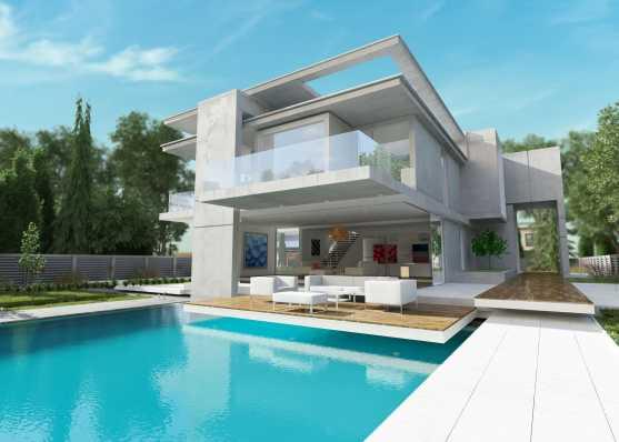 Villa mit angrenzendem Swimmingpool