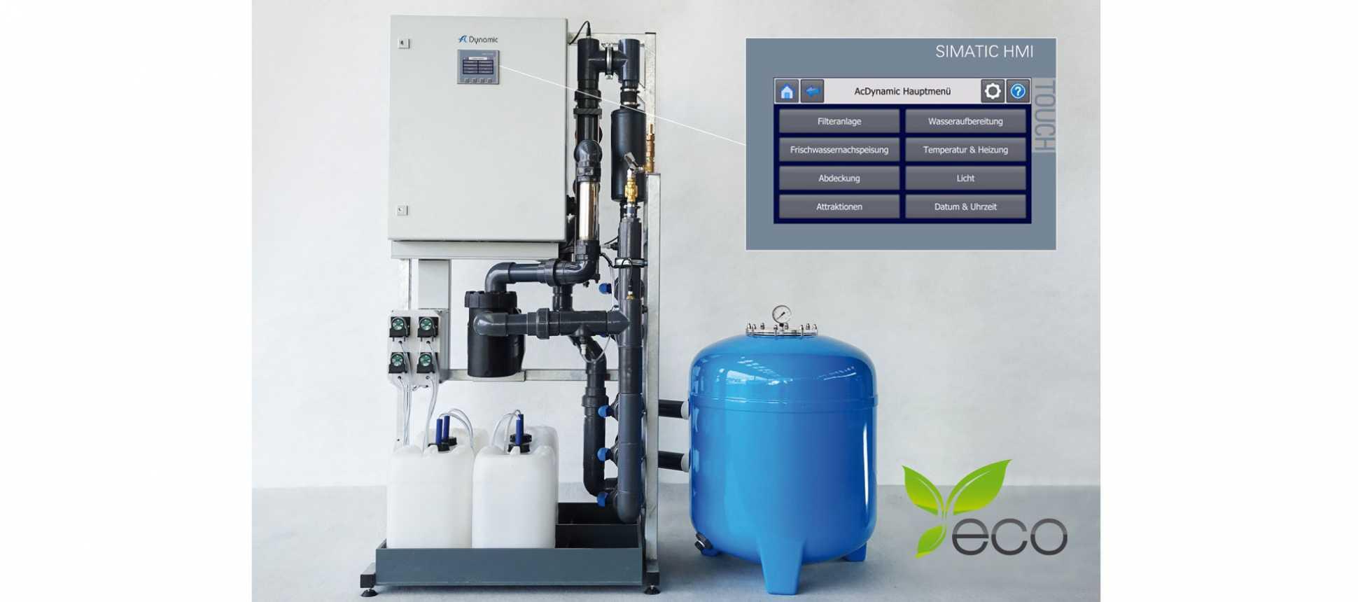 Filterreinigungsautomat Wasseraufbereitung