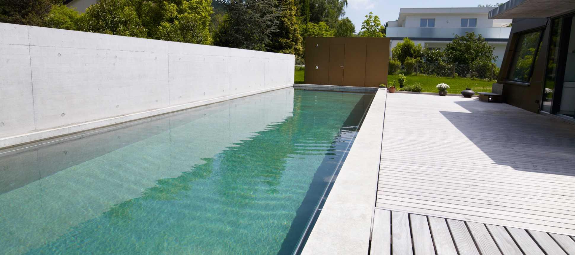 Schwimmbadbau Betonpool Swimmingpool
