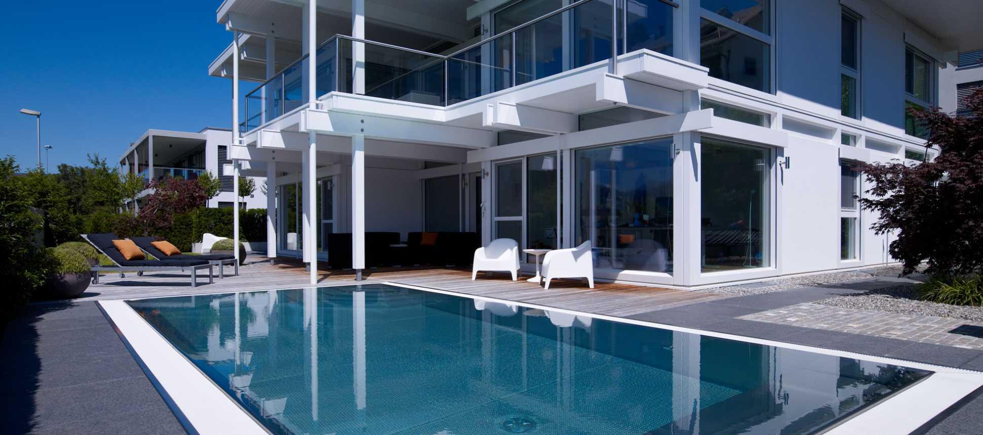 Edelstahl Swimmingpool Schwimmbad