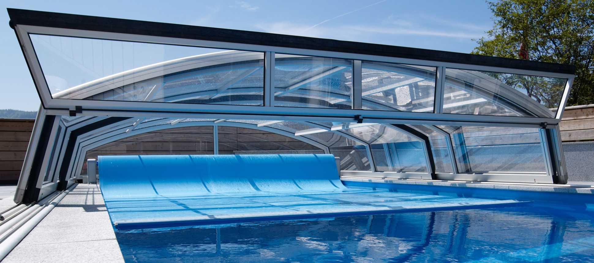 Poolüberdachung Swimmingpool Dach