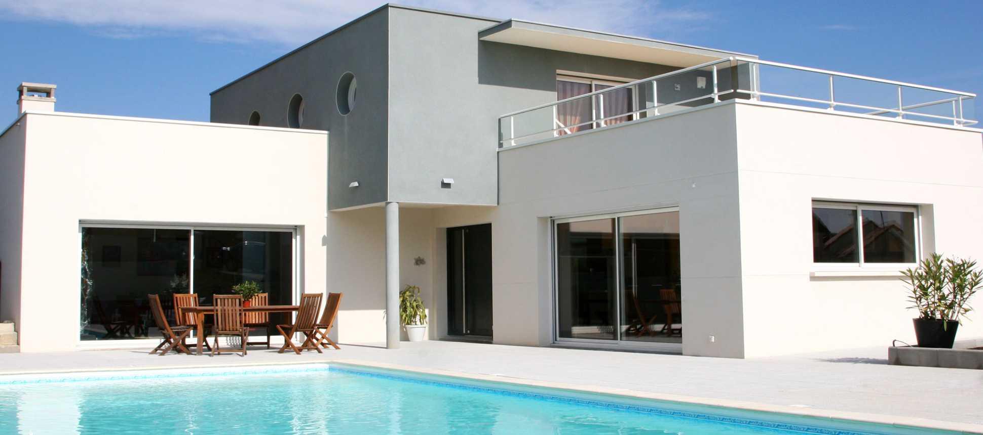 Einfamilienhaus mit pool  Das Einfamilienhaus | AC Schwimmbadtechnik